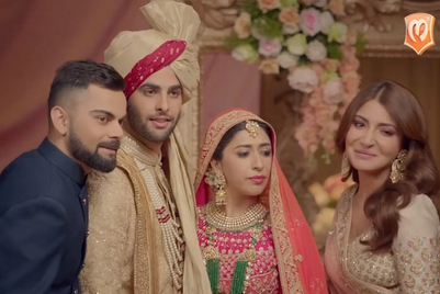 Manyavar returns with Virat Kohli and Anushka Sharma, one year later