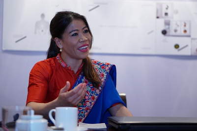 MMGB: Mary Kom's second jingle from Goafest 2019