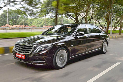 Blog: The Mercedes-Maybach S-600 - wow on wheels!