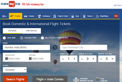 MakeMyTrip ropes in Isobar