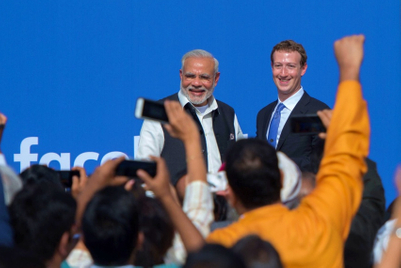 PM Narendra Modi reigns over the Facebook throne