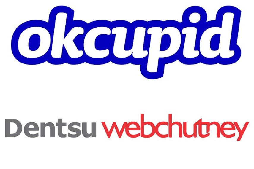 OkCupid appoints Dentsu Webchutney for digital and creative