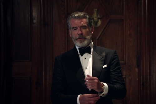 Pan Bahar turns to Pierce Brosnan,  to close gap with Rajnigandha