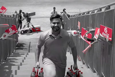 Weekend Watch: Coca-Cola puts the team first with 12th man Rishabh Pant