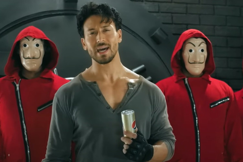 Pepsi and Tiger Shroff join the 'Heist'