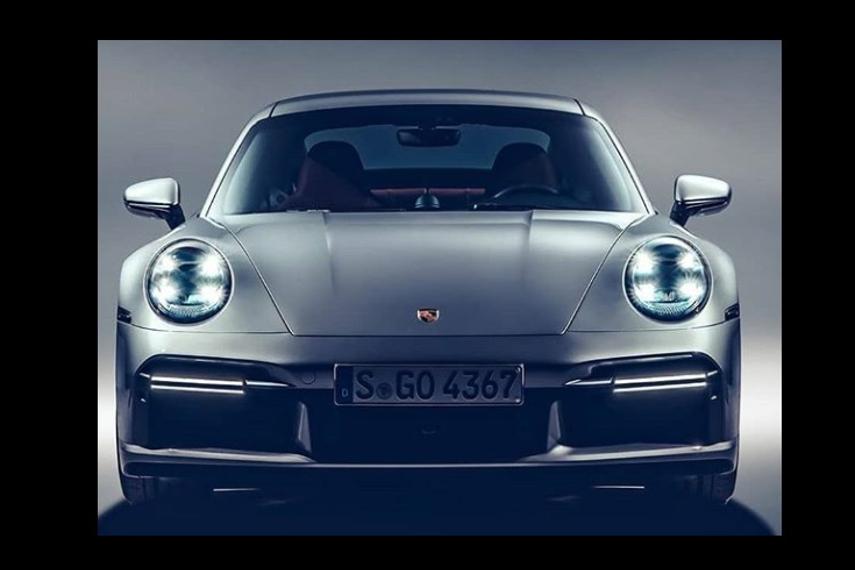 Porsche 911 Turbo S - Image courtesy Autocarindia.com