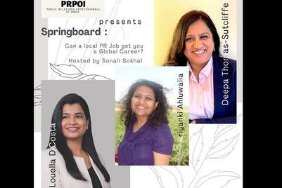 Springboard: Crafting a global career in PR