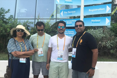Pune warriors team up at Cannes Lions