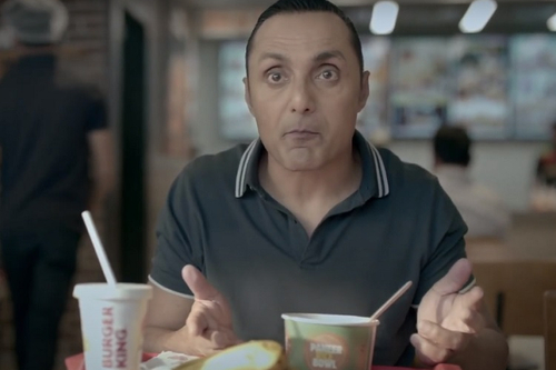 Rahul Bose goes bananas with Burger King