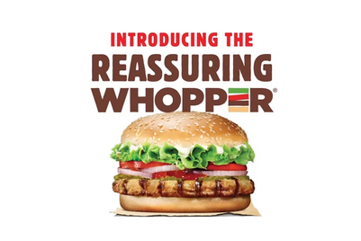 Burger King looks to re-unite loved ones over a Whopper
