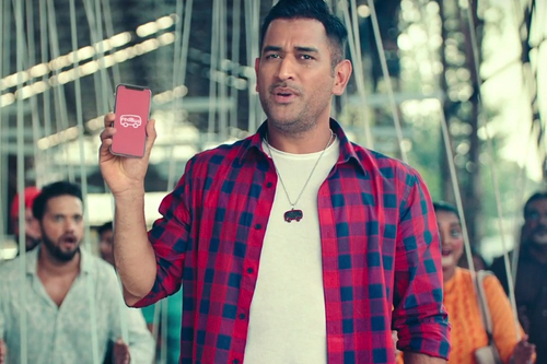 MS Dhoni raps, asks bus travellers to use redBus instead of being puppets