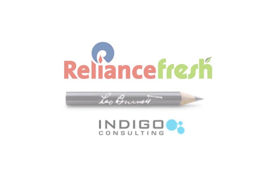 Reliance Fresh hires Leo Burnett and Indigo consulting
