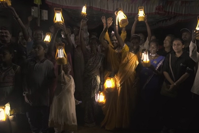 MMGB 2: Renault drives into village with solar lamps, drives out darkness this Diwali
