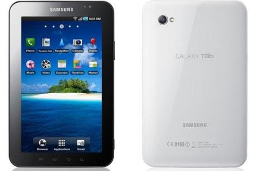 三星推出Galaxy Tab对抗iPad