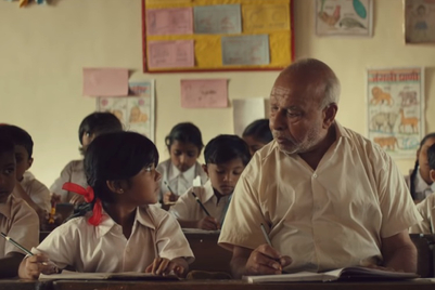 P&G brings the school to a 75-year-old student