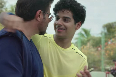 Anil Kapoor, Ishaan Khattar continue with friendly banter for Spotify