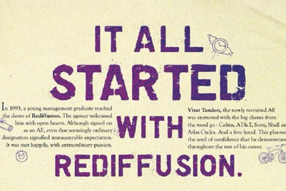 Rediffusion builds up to 50 years of existence by celebrating talent
