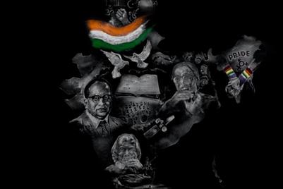 Tata uses 'salt art'  to celebrate India's constitution