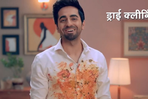 Tide gets Ayushmann Khurrana in a triple role to show spotless cleaning