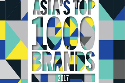 Presenting Asia's top 1000 brands 2017