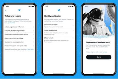 Twitter reopens 'blue tick' verification process