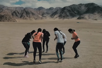MMGB: Under Armour stresses the importance of 'will' with the Indian women's ice-hockey team
