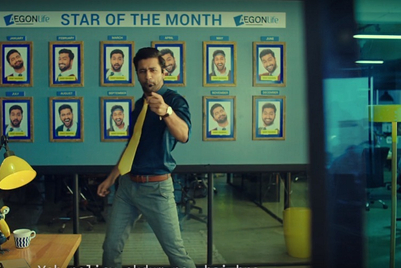 Vicky Kaushal raps away the tension in Aegon Life commercial