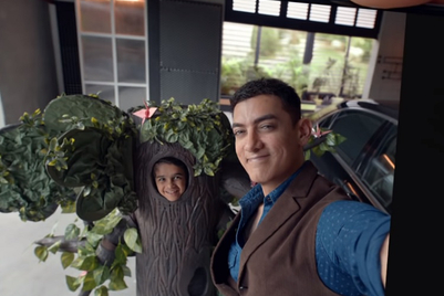 Vivo showcases V19 features with Aamir Khan and his nephew bickering
