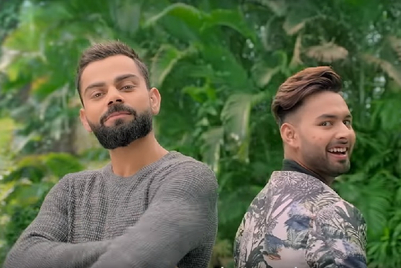 Virat Kohli and Rishabh Pant rap away the pimples