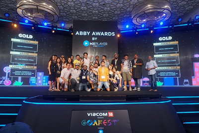 Goafest 2019: Dentsu Webchutney bags seven Golds in Creative Abbys