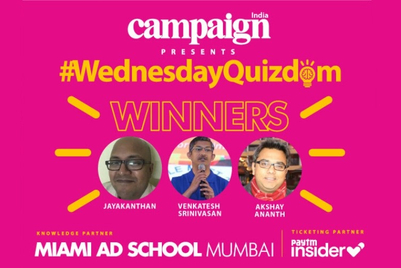 Jayakanthan R wins second edition of Campaign's #WednesdayQuizdom