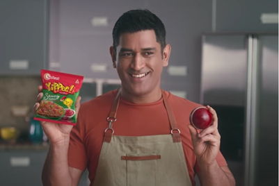 MS Dhoni vouches for Sunfeast Yippee's new 'culinary googly'