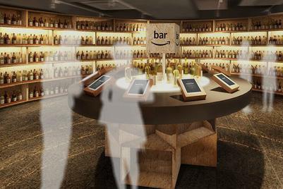 アマゾンがバーを出店、酒類の販売促進をねらう