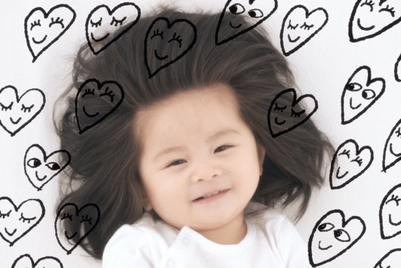パンテーン、「爆毛赤ちゃん」を起用し個性を愛することを訴求