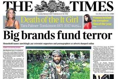 テロ資金と化す、オンライン広告費