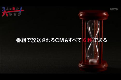 6秒CMをテーマにした番組、CM枠もすべて6秒