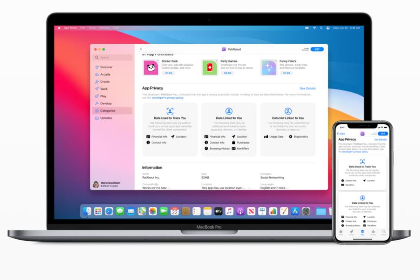 Apple、アプリ開発者にプライバシー情報の「成分表示」を義務付け開始