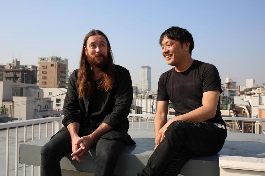 スコット・ダンゲート氏(写真左)、鈴木洋介氏