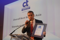 Service Satisfaction Rankings Awards: Overall Best Bank in Asia, Alex Manson, Group Head, Transaction Banking, Standard Chartered Bank