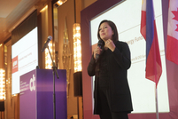 Jo Ann Eala, vice president and head of sustainable energy financing, Bank of Philippine Islands, gave a presentation on sustainable energy financing.