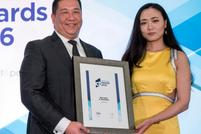 Adinata Widia of Bank Mandiri collects Best Bank in Indonesia