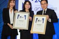 Best Payment Strategy: Rachel Wang of Saint Gobain and Mario Utama of BNP Paribas