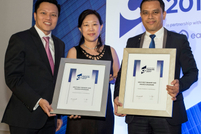 Best Working Capital Solution: Hazranshah Abdul Hamid of Boustead Plantations and Alvin Ang Hock San of UOB Malaysia