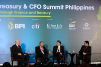 Peter Shadbolt, editor of CorporateTreasurer discusses the key to managing digital transformation in finance and treasury with Ramon Jocson of BPI, Joerg Gruenewald of Royal Cargo Group and Rizalito Oades of Unilogix