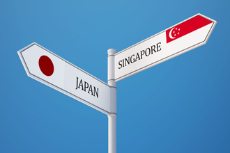 Now Japan is joining Singapore's blockchain super highway