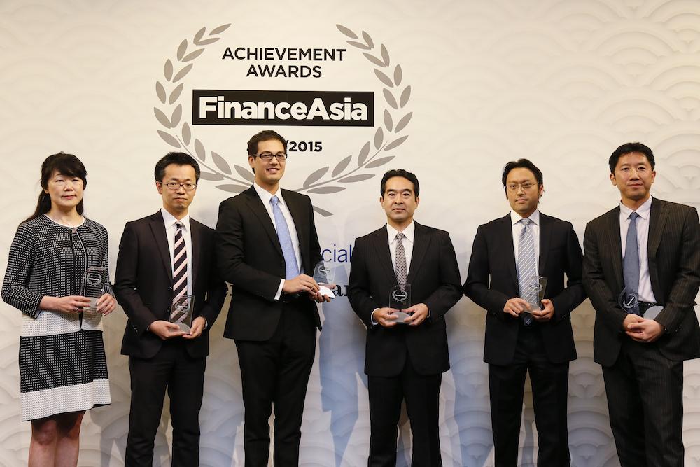 Best Private Equity Deal, (from left) Masako Nomoto, Morgan Stanley