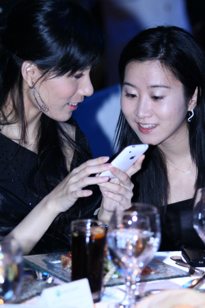 Rosana Mak and Yunna Choi of Barclays Capital