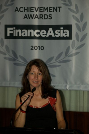 Cherie Marriott of FinanceAsia