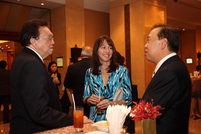 Jose Pardo, Philippine Stock Exchange; Cherie Marriott, FinanceAsia; Manuel Tordesillas, ATR KimEng Capital Partners