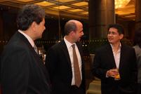 Enrique Alberto, AsianLife Financial Assurance; Iker Aboitiz, Aboitiz Power; Godofredo Aquino, ATR KimEng Securities